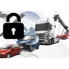 Установка системы мониторинга на транспорт глушение двигателя