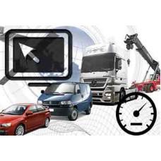 Установка системы мониторинга на транспорт и контроль передвижения (онлайн)